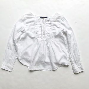 Polo Ralph Lauren white blouse EUC 8Y